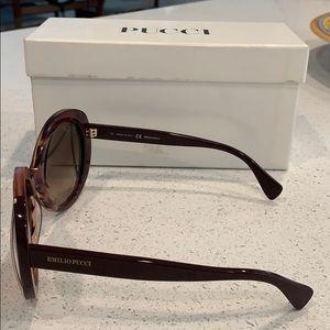 Emilio Pucci Accessories - EMILIO PUCCI round sunglasses